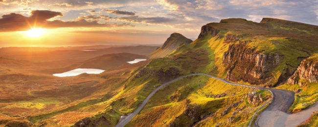SUMMER! New York or California to the Scottish Highlands from $426!