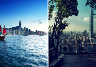 2 in 1: Vancouver to both Hong Kong and Taiwan for only $415/ C$558!