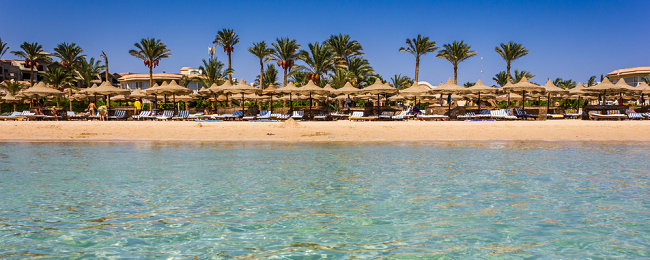 All-inclusive 7-night stay in 5* beach resort & aqua park in Egypt's Red Sea coast + flights from Germany or Netherlands from €187!