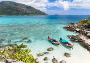 6-night stay in top-rated resort on Koh Lipe + flights from Bangkok for just $125!