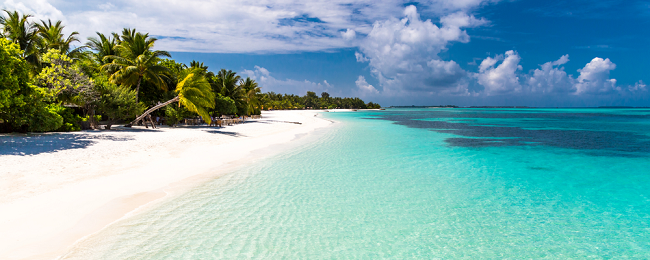 Cheap full-service flights from Osaka to the Maldives from only $375!