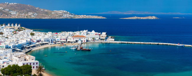 Cheap flights from Germany to Mykonos, Kos, Corfu and Kefalonia from €18!