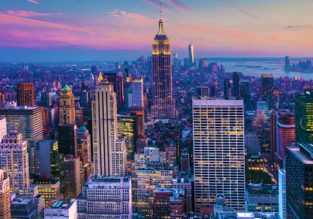 Direct flights from European cities to New York and Boston from just €177!