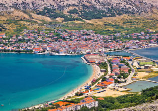 7-night stay in top-rated seaview apartment in Pag island, Croatia + late summer flights from Germany for just €119!