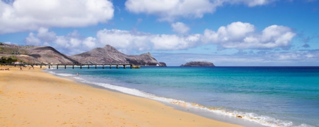 7-night stay on exotic volcanic island of Porto Santo, Madeira + flights from London for £204!