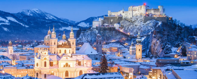 Winter break in Austrian Alps! Cheap flights from Berlin to Salzburg from just €25!