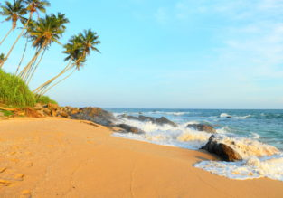 7 nights in top-rated hotel in Sri Lanka with breakfast + flights from Munich from €399! Half-board from €447!