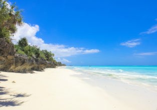 High Season! Cheap Turkish Airlines flights from France to Zanzibar from only €373!