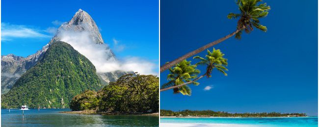 Singapore to Auckland or Christchurch, New Zealand from $428! 2 in 1 with Fiji from $554!