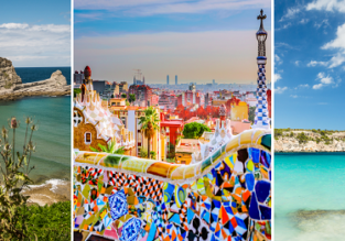 SUMMER 3 in 1: Santander, Barcelona and Mallorca from London for £76!