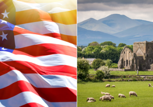 Ireland and the UK to the USA (or vice versa) from only €99/$88 one-way!