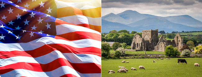 Ireland and the UK to the USA (or vice versa) from only €99/$99/£129 one-way!