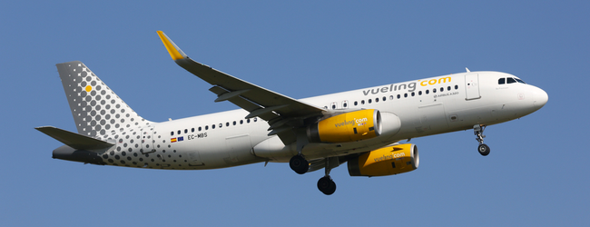 Vueling: One milion seats across Europe from just €14.99 one way!