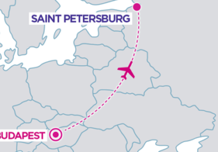 Wizz Air New Route: Budapest to Saint Petersburg!