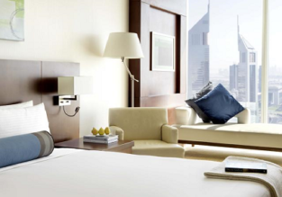 Superior double room at 5* luxury hotel in Dubai for only €29/ $32 per person!