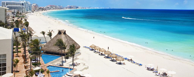 7 nights at luxury beach resort in Cancun & flights from New York for $589!