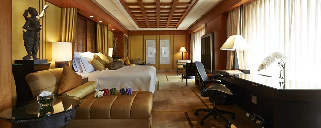 238 sq. m. Presidential Suite in 5* luxury hotel in Bangkok for €158/ $172!