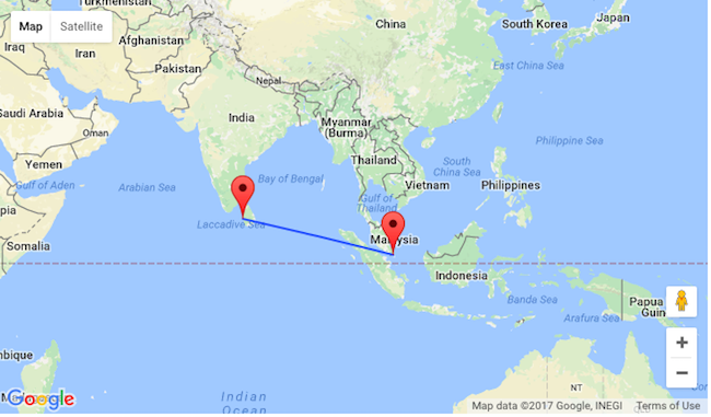 Non-stop from Singapore to Sri Lanka for only $203!