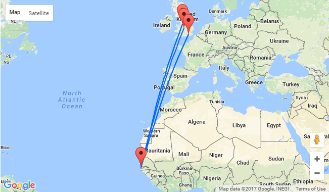 Non stop from uk cities to banjul gambia from only 172 how to book click here or follow the links below and adjust the travel dates sciox Choice Image