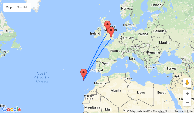 London Or Manchester To Porto Santo Island From Just 163 40