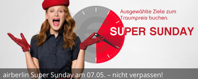 AirBerlin Super Sunday! Summer flights from Germany to Azores, Iceland or Malta from €69 one-way!