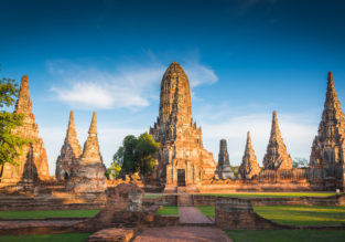 High season: Copenhagen to Bangkok for only €392!