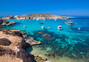 Cheap flights from Budapest to Malta from only €23!