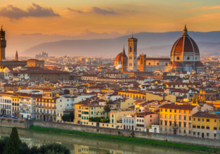 4-night break in well-rated villa hotel in Florence, Italy + flights from London for only £101