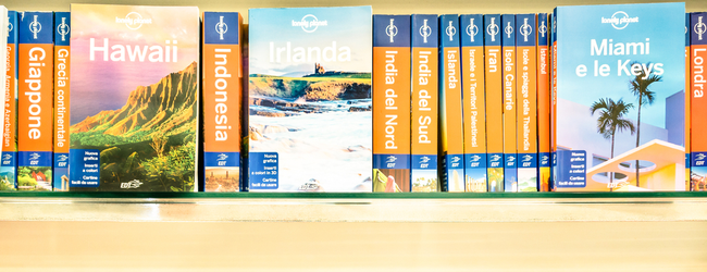 LAST DAY! Lonely Planet's Promo Code: 45% off on all e-books!