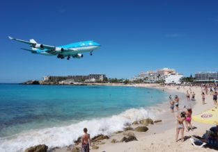 Cheap non-stop flights from Paris to St. Martin for €325!