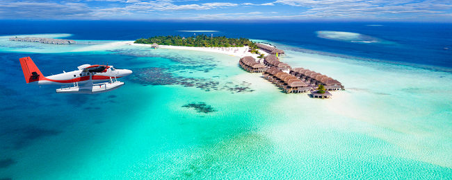 Holiday in Maldives! 7-night B&B stay at top rated beach hotel + flights from Helsinki for only €546!