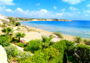 5-night stay at well-rated apartment in Cyprus + flights from London for only £96!