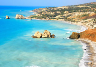 Spring break in Cyprus! 7 nights at well-rated aparthotel + cheap flights from Bucharest for just €95!
