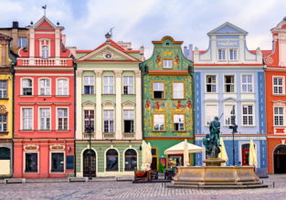 HOT! Cheap flights from Oslo to Poznan, Poland and vice-versa for €1!