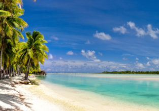 London to mega exotic and remote Cook Islands for £868!