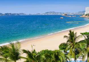 9-night stay at 5-star beachfront hotel on Mexican Pacific coast + flights from New York for $449!