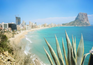 Spring break in Spain! 9 nights at well-rated apartment in Costa Blanca + flights from New York from just $431!