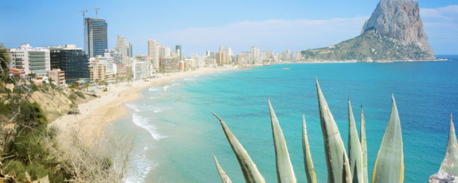 6 nights at beachfront hotel on Costa Blanca + cheap flights from London for just £130!