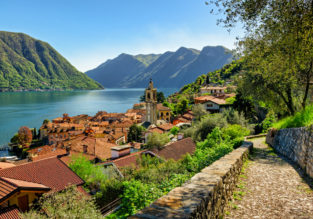 3-night stay in lake view B&B on breathtaking Como Lake + flights from Scotland for just £114!