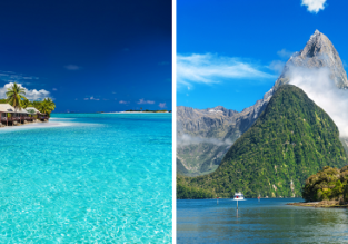 Non-stop flights from California to exotic Fiji from $695! 2 in 1 with New Zealand from $73 more!