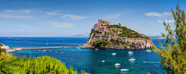 Ischia Island getaway! 7-night B&B stay at luxurious 4* hotel & spa + flights from London for £174!