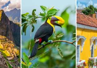 3 in 1: Peru, Ecuador and Colombia/ El Salvador in one trip from London from £650!