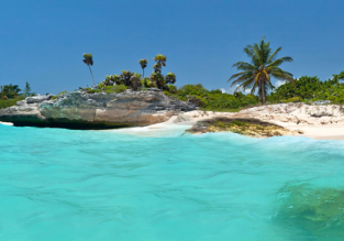 6-night stay in well-rated apartment in Playa del Carmen + non-stop flights from Chicago for just $295!