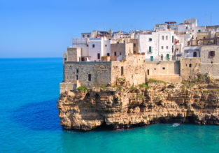 7-night stay in Puglia, Southern Italy + car hire & cheap flights from Romania for just €123!