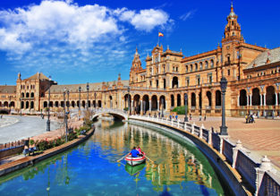 City break in lovely Seville! 4-night stay at well-rated hotel + cheap flights from UK for just £97!