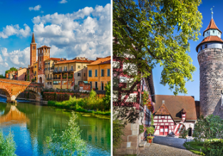 Peak summer! Weekend flights from Nuremberg to Verona (or vice versa) for €12!