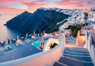Mykonos, Santorini, Athens and Crete in one trip from Germany for €95!