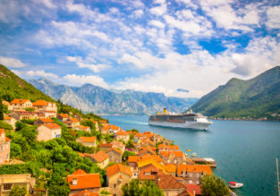 7-night stay in sea view apartment in Montenegro + flights from Budapest for only €73!