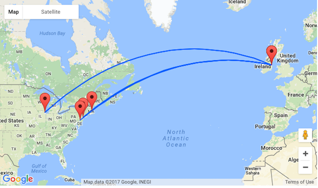 Travel From New York To Boston By Car