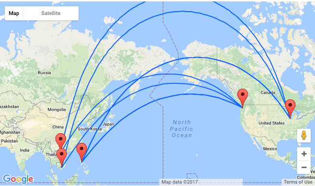 5 Asiana Summer Flights From Seattle Or Chicago To The Philippines Or Vietnam From 467